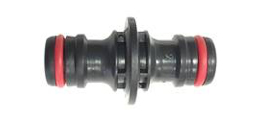 Yes, it is possible to join two YOYO garden hoses with the standard connector available at retailers or even on-line. It is a straightforward union fitting. Please note that an increase in the hose's length may influence – though slightly – the flow rate. The one shown in the picture below is the available YOYO series accessory, which can also be purchased on Amazon.
