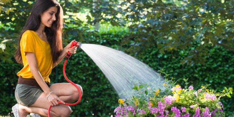 YOYO expandable hose for irrigate the garden