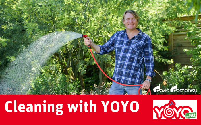 Cleaning with YOYO